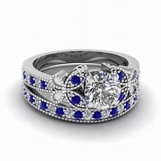 blue sapphire engagement rings fascinating diamonds