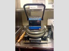 Somerset SDP 747 PizzaBread Dough Press   Pre Owned Manual