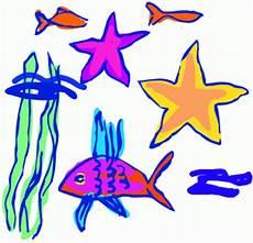 Ausmalbilder Bunte Fische Bunte Fische 2 Ausmalbild Malvorlage Kinderzeichnungen