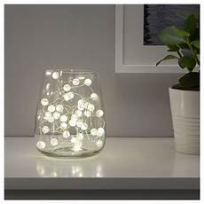 Ikea Sn 214 Yra Led String Light With 40 Lights Indoor