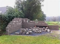 Mauer Ideen Garten
