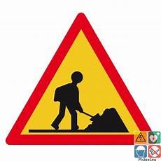 panneau travaux en cours panneau travaux en cours pour voies priv 233 es conforme au code routier