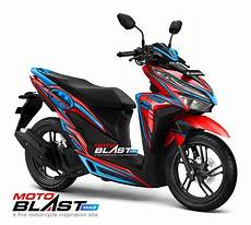 Modifikasi Vario 150 Silver 2018 by Modifikasi Striping Honda Vario 150esp Facelift 2018