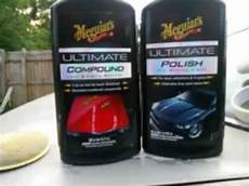 meguiar s ultimate compound and can do paint