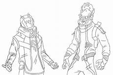 coloring page fortnite season 10 x lord and eternal