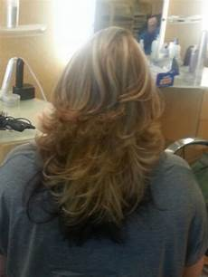 short layered haircut with multiple high and low lights short layered haircuts layered