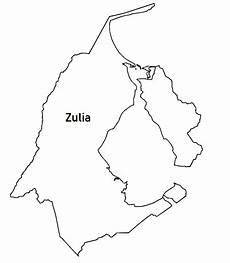 dibujo del estado zulia participar da pol 237 tica mapa del estado zulia venezuela para colorear