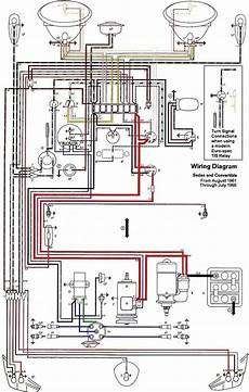 1600 Vw Engine Wiring Diagram by Free Auto Wiring Diagram 1962 1965 Vw Beetle Electrical