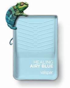 one of 12 valspar 2019 colors of the year healing airy blue available as angelic blue 5003