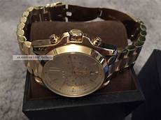 michael kors uhr mk 5605 chronograph gold herren damen