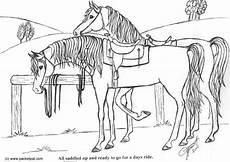 Ausmalbilder Pferde Western Malvorlage Gesattelte Pferde Kostenlose Ausmalbilder Zum
