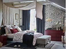 une chambre 224 coucher bourgeoise et fleurie ikea