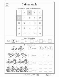 timed multiplication worksheets for 3rd grade 4965 3 times tables worksheets activities greatschools printable math worksheets 3rd grade