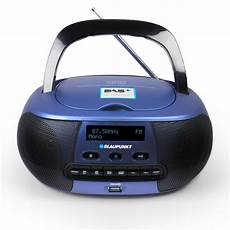 blaupunkt boombox mit digital radio dab kinder cd player