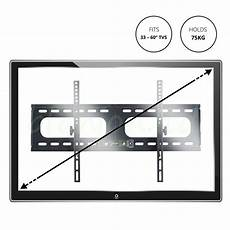 Heavy Duty 70in Flat Panel Wall by 37 70 In Large Size Flat Screen Tv Fixed Wall Mount