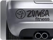 Zumba 2 Logo Sticker  &163299 Car