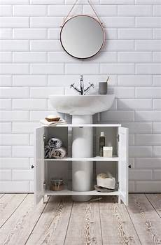bathroom sink cabinet undersink in white stow in 2019