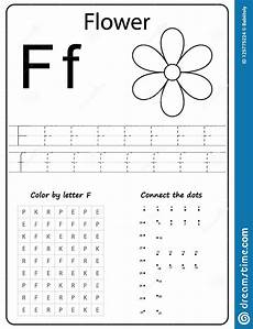 writing letter f worksheet writing a z alphabet exercises game for kids stock vector