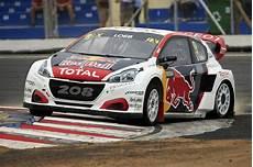 Le Team Peugeot Hansen Vice Chion Du Monde Rallycross