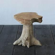 Teak Wurzel Tisch - teak root side table terrain