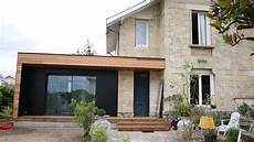 extension maison bois extension de maison bordeaux ossature bois cedar