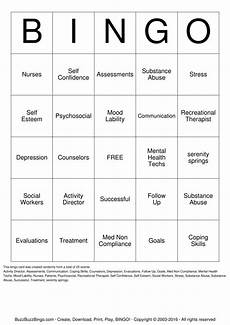 worksheets mental health images free bingo original bingo best games resource