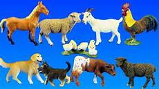 country barn farm animals with schleich animal toys