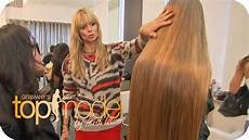 Germany S Next Topmodel 2014 Das Gro 223 E Umstyling