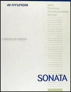 where to buy car manuals 2003 hyundai sonata spare parts catalogs 2003 hyundai sonata electrical troubleshooting manual original