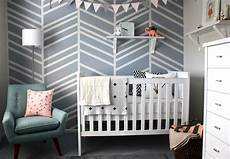 kinderzimmer wand ideen diy feature wall baby nursery project nursery