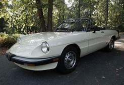 BaT Exclusive 30k Mile 1985 Alfa Romeo Spider 2000