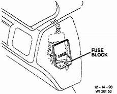 Where Are The Fuses In A 1996 Chevy Lumina I See Fuses