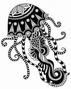 Malvorlagen Mandala Fische Jellyfish Mandala Coloring Page Mandala Coloring Pages