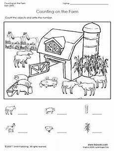 worksheets animals of the farm 13984 snapshot image of counting on the farm pre k on search and preschool