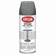 krylon flat granite textured spray paint actual net contents 12 oz at lowes com