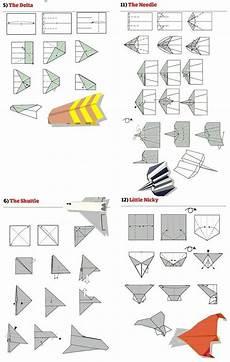 Papierflieger Bauen Papier Flieger Basteln