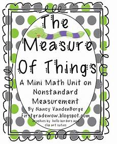 first grade wow measurement unit