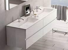 badmöbel 2 waschbecken burgbad bel doppelwaschtisch mit waschtischunterschrank m