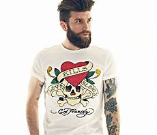 Ed Hardy Shirt - top 6 graphic t shirts from ed hardy s fitness