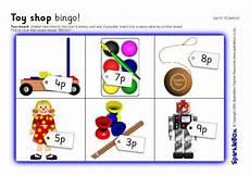 money worksheets sparklebox 2329 shop bingo up to 10 pence sb1889 sparklebox