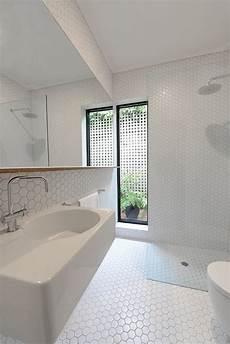 Bathroom Ideas Hexagon Tile by 32 White Hexagon Bathroom Tile Ideas And Pictures