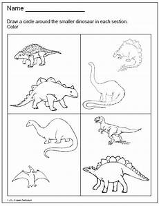 dinosaur worksheets kindergarten free 15327 1 2 3 learn curriculum dinosaur worksheets