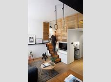 Hotel room boasts retractable staircase and hideaway loft