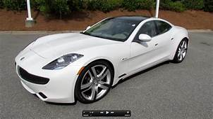 2012 Fisker Karma Ecochic Start Up Engine Test Drive