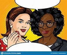 ilustra 231 227 o do estilo do pop art da cor do vetor de uma fala da menina ilustra 231 227 o do vetor