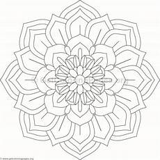 mandala coloring pages flowers 17908 flower mandala coloring pages 98 getcoloringpages org