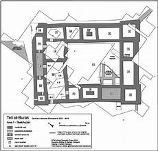 mud brick house plans plan of the monumental mud brick building at tell el burak