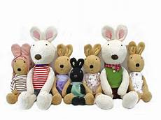 teddy n doll le sucre rabbit l40111 give gift boutique flower shop