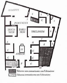 pompeian house plan house of the surgeon iii c b c pompeii plan very