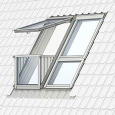 dachfenster mit balkon austritt product sectional drawings